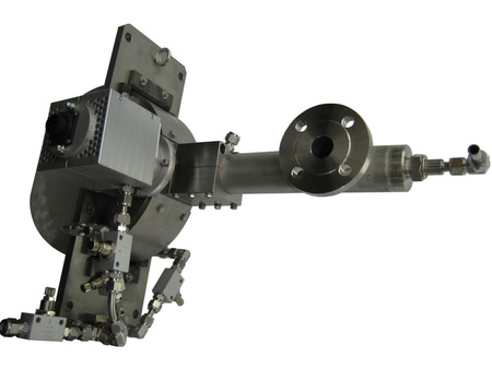 Injection lance with vertical drive, Typ DV
